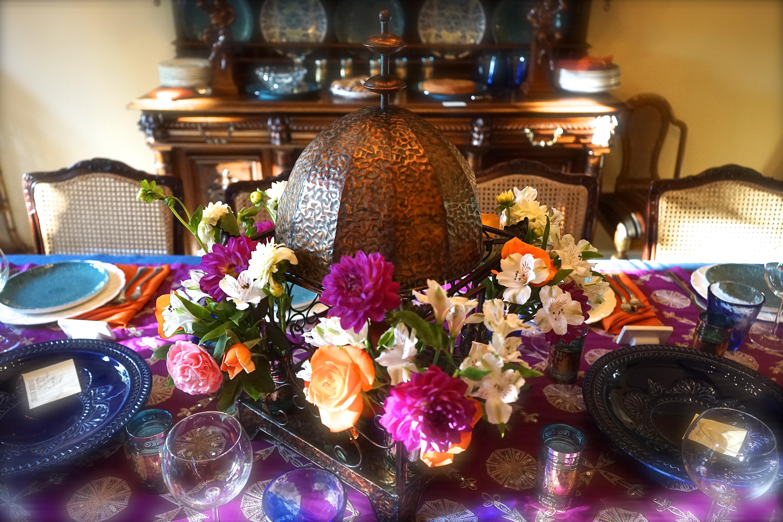 Moroccan Feast: Centerpiece