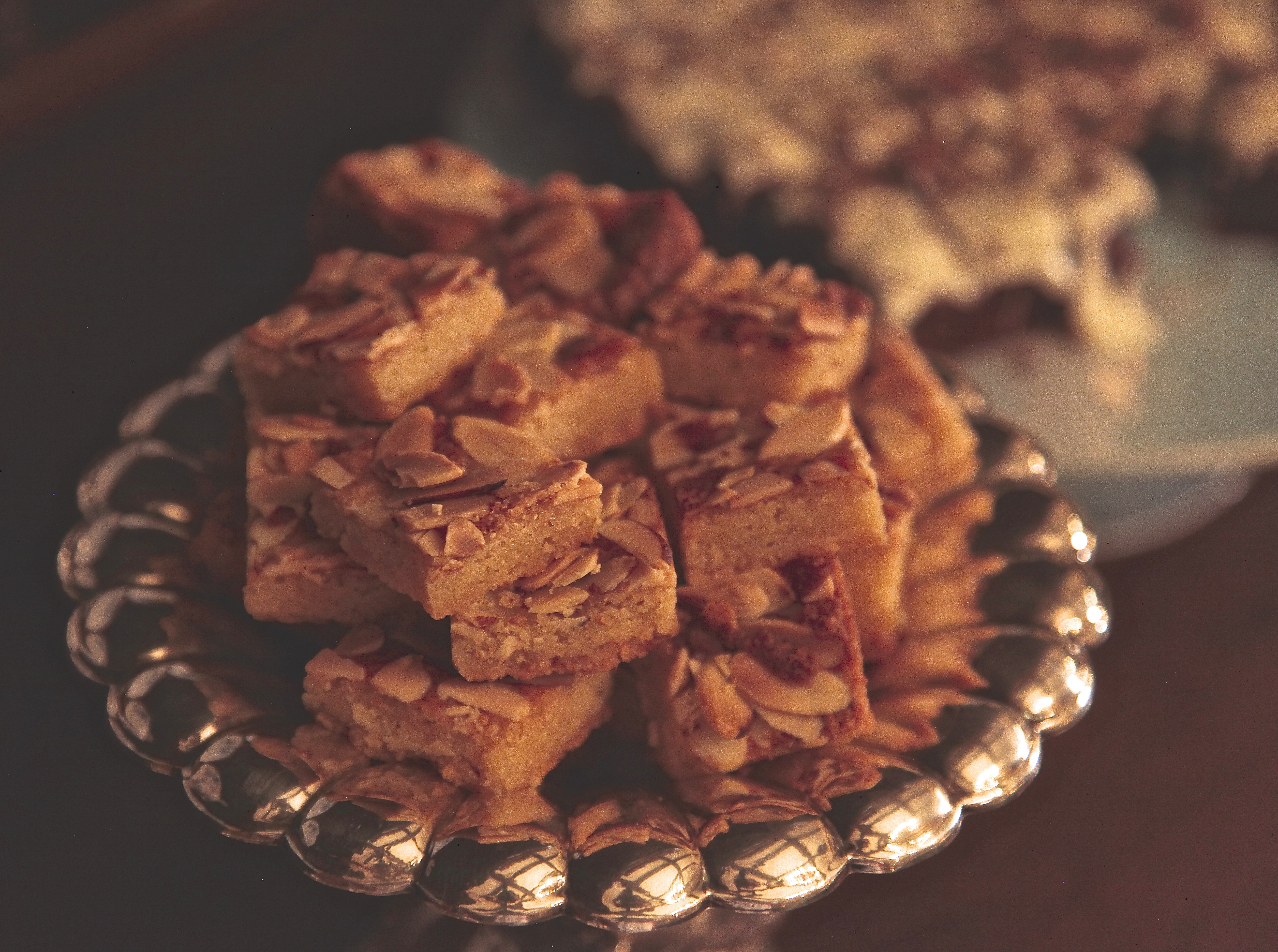 How about this Triple Almond Bar Cookie?