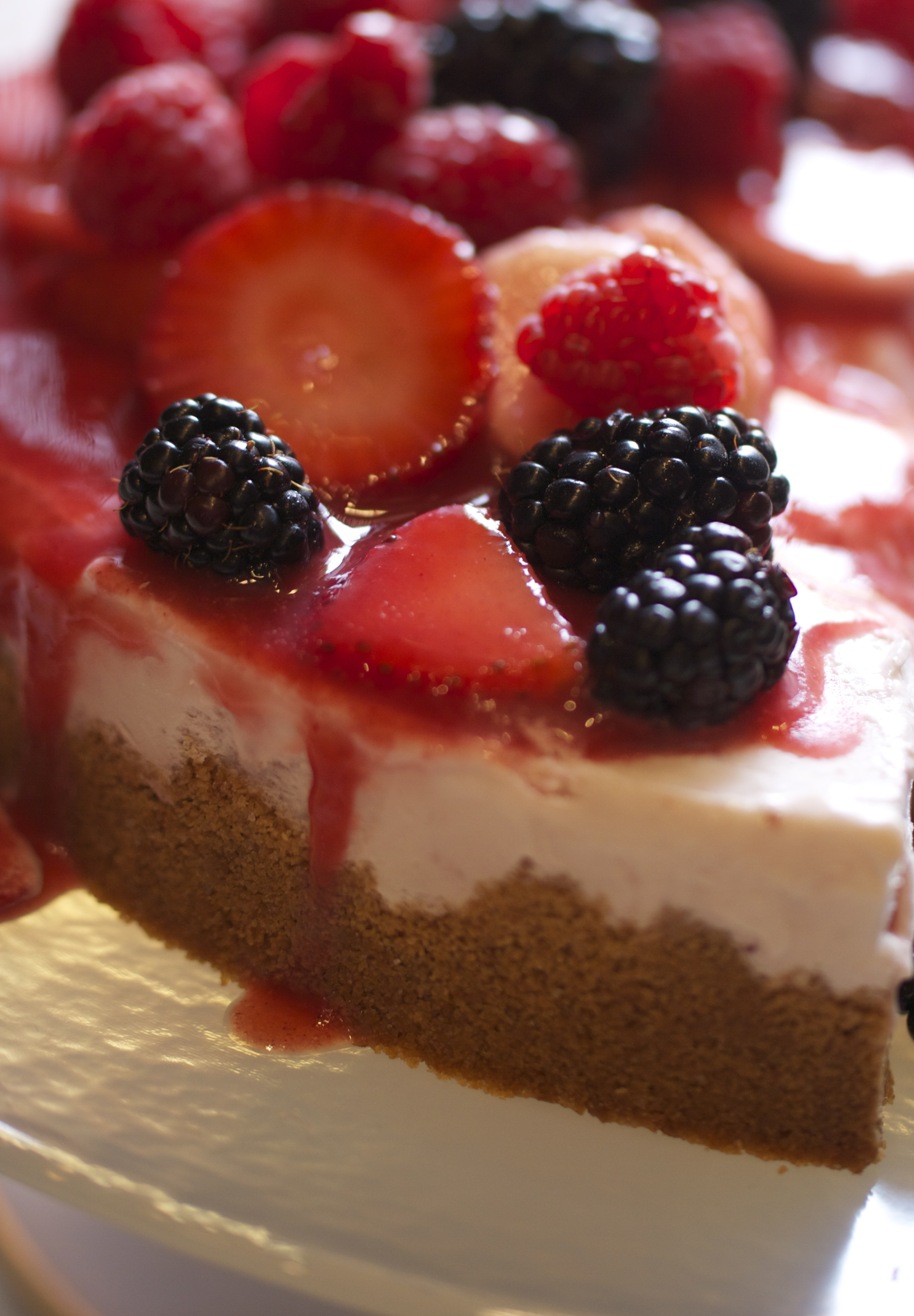 Strawberry Creamsicle Pie (Mexican Fiesta)