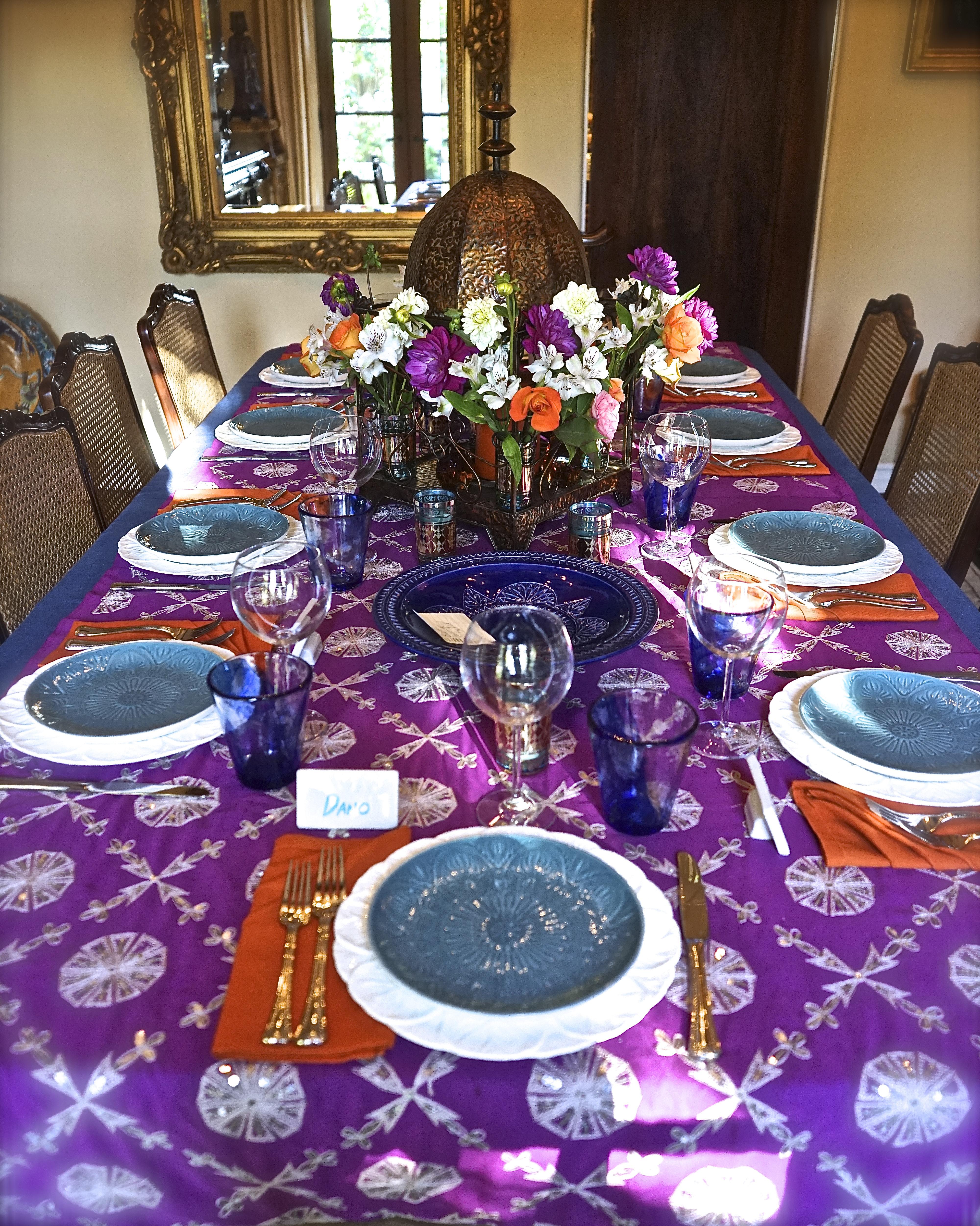 Moroccan Feast: Tabletop