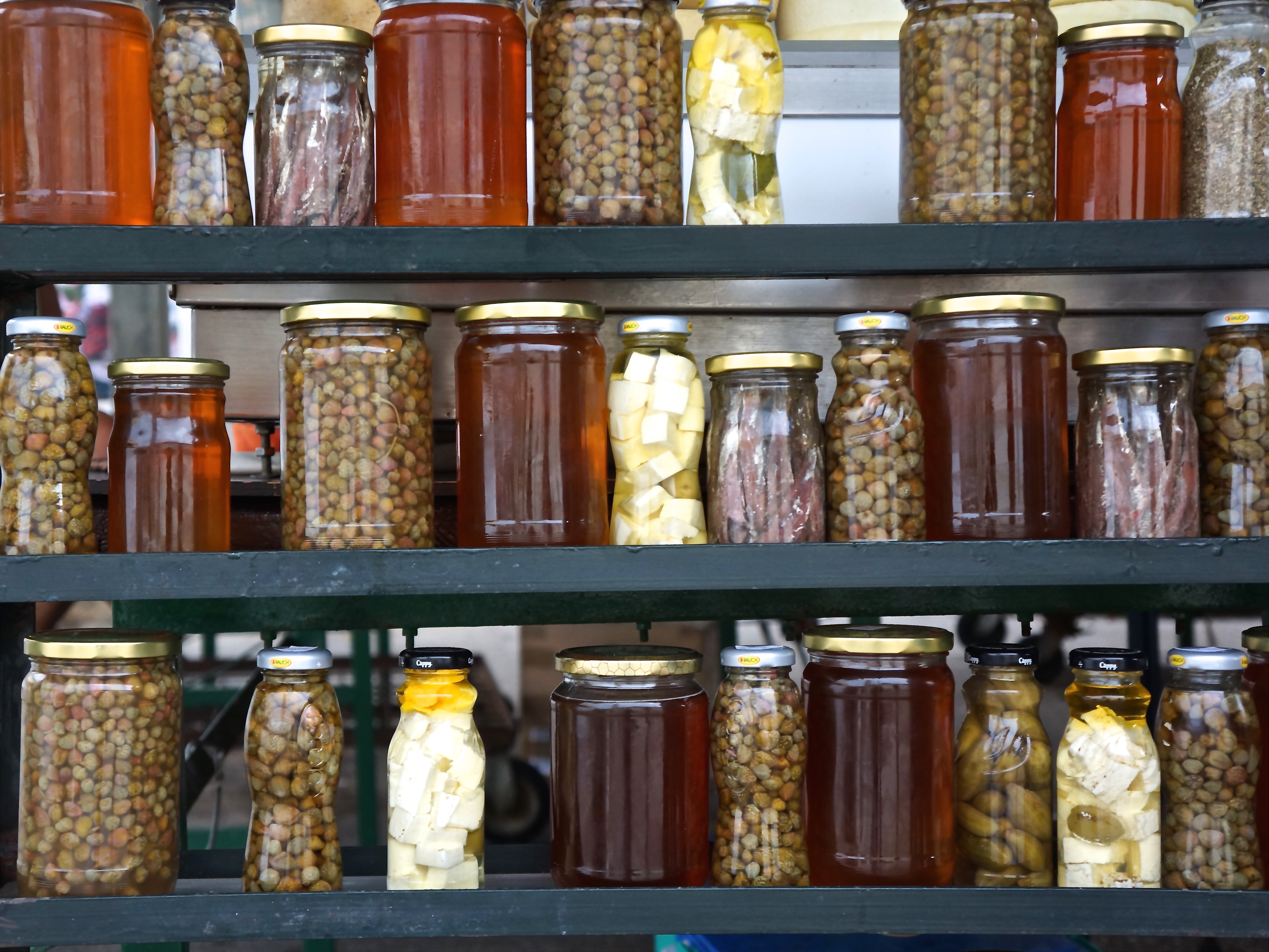 Capers, honey and anchovies are just a few items in which the local merchants pride themselves.