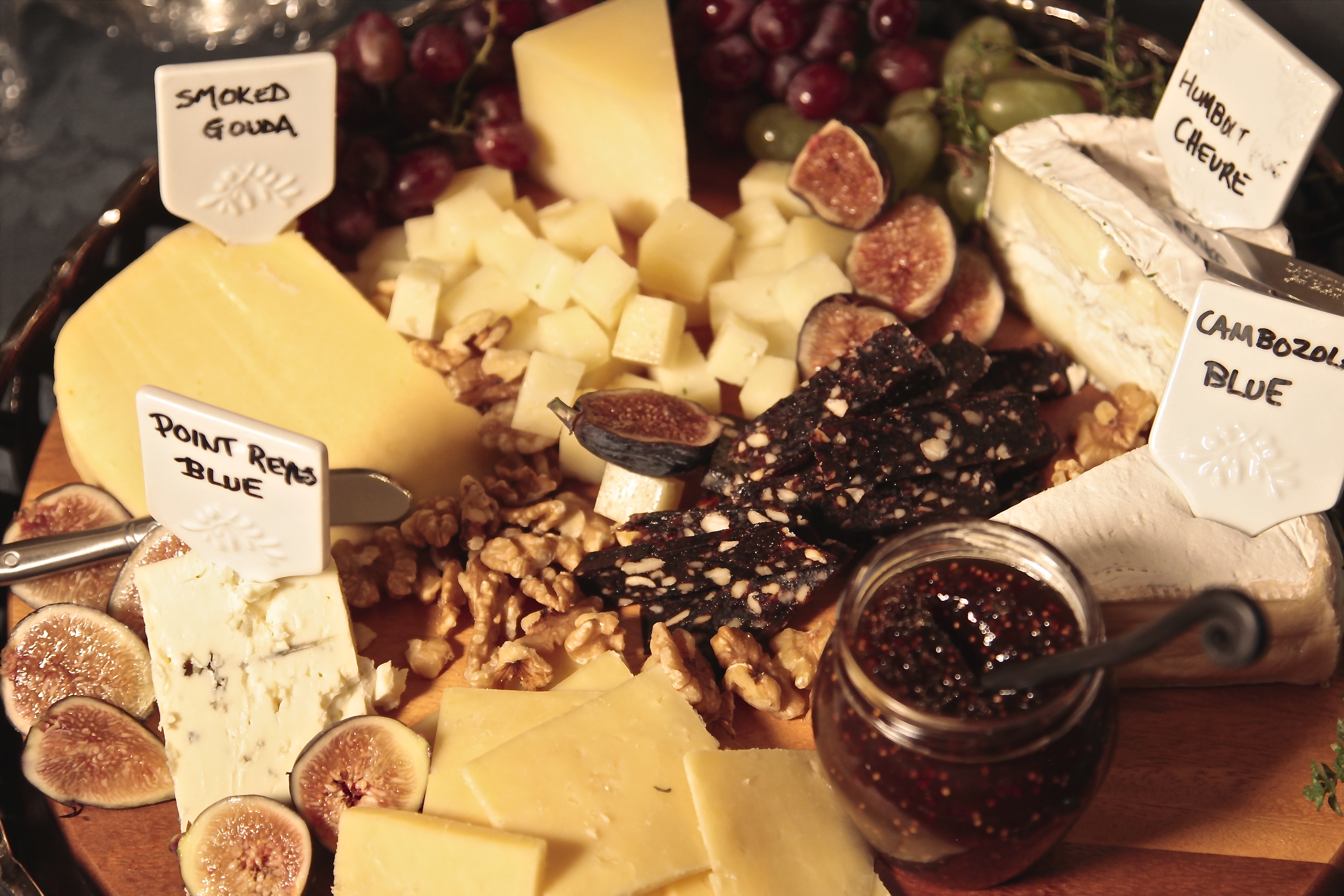 & The Ultimate Cheese Platter | At Home With Friends