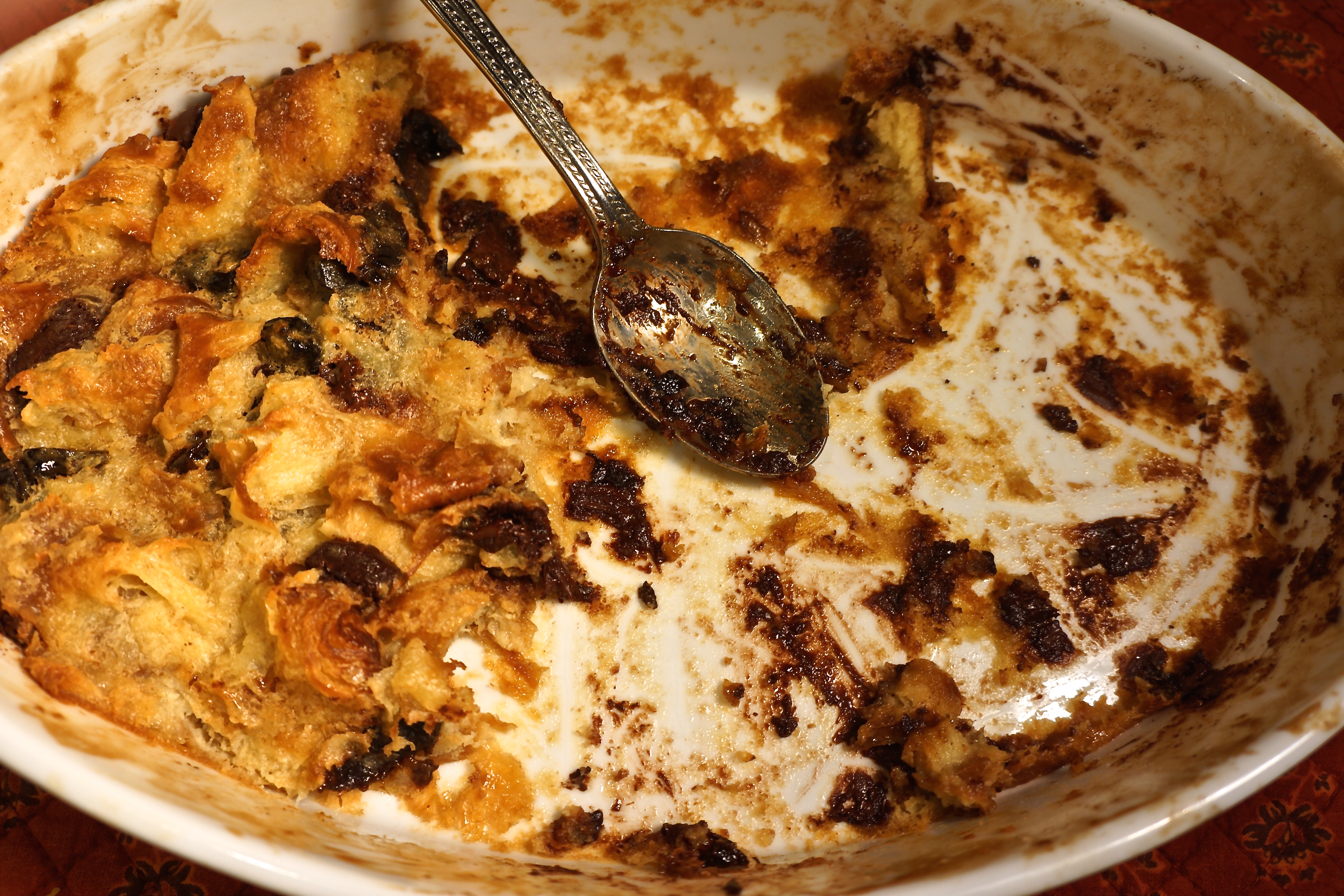 "You know the expression, ""Necessity is the Mother of invention""? In this case, my Bread Pudding invention turned out to be simply divine."